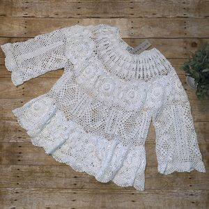 Chan Luu Crochet Top